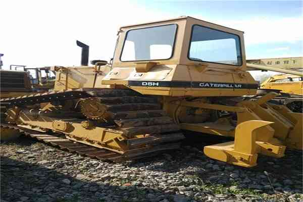 Original Japan Road Machinery Caterpillar Bulldozer or Digger D5h 203