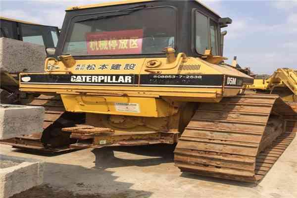 Secondhand Caterpillar Crawler Bulldozer D5m 236
