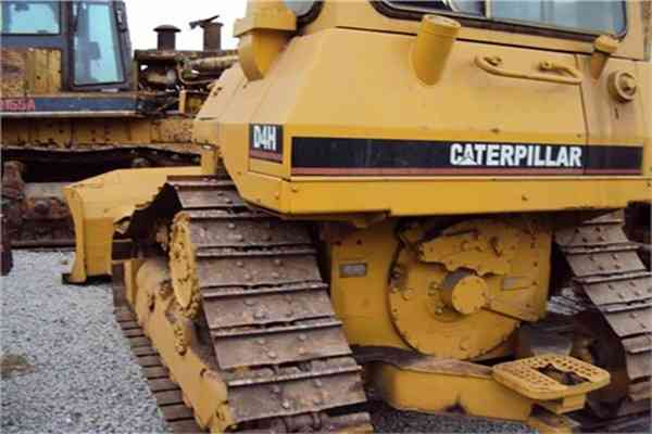 Secondhand Caterpillar Crawler Bulldozer Used Walking Dozer D4H 179