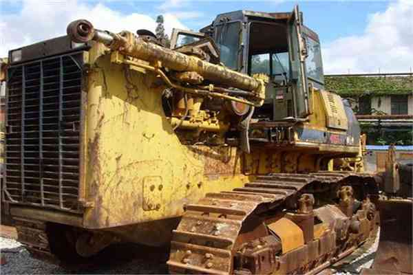 Secondhand Komatsu Crawer Walking Tractor Used Komatsu Bulldozer D155A 2 171