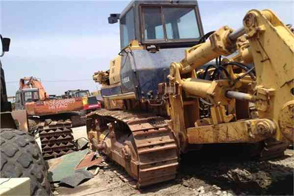 Secondhand Walking Komatsu Bulldozer Used D155A Dozer D155A 2 183