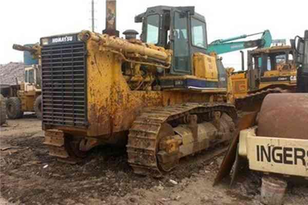 Secondhand Walking Komatsu Dozer Used Crawler Bulldozer D155A 2 170