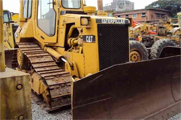 USD Caterpillar Crawler Tractor Secondhand Walking Bulldozer D4H 176