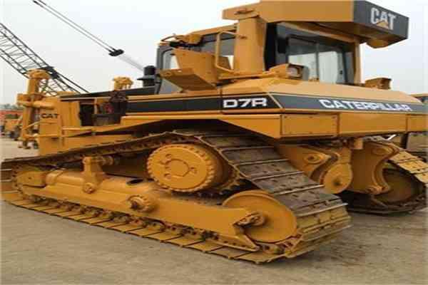 Used Cat Bulldozer Secondhand Crawler Dozer D7R 155