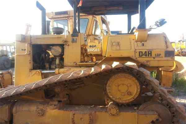 Used Cat Bulldozer Secondhand Walking Tractor D4h LGP 32