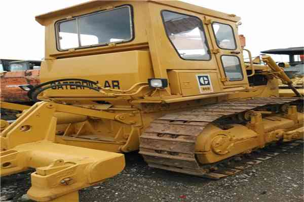 Used Cat Crawler Bulldozer D6D 206