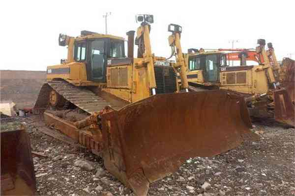 Used Cat Crawler Bulldozer D8r 25