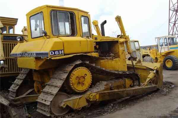 Used Cat Crawler Bulldozer Used Tractor D6h 4