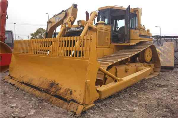 Used Cat Tractor Hydraulic Crawler Bulldozer D6R 197