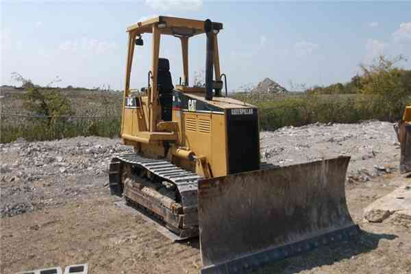 Used Caterpilar Crawler Bulldozer D4c 29