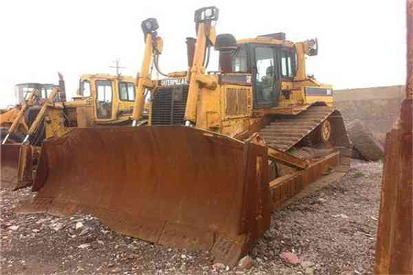 Used Caterpillar Bulldozer D8R with CE76
