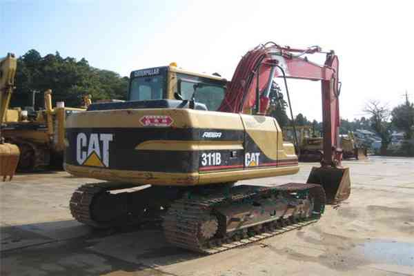 Used Crawler Excavator Hitachi EX200-1 in Saudi Arabia