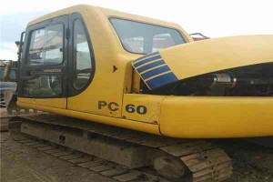 komatsu-used-6ton-mini-excavator-pc60-7-with-ce4