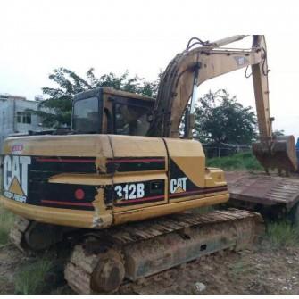 Used Crawler Excavator CAT 312B