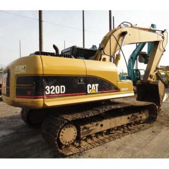 Excavadora de cadenas usada CAT 320D