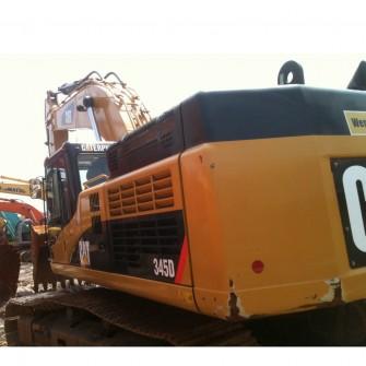 Excavadora de cadenas usada CAT 345D
