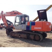 Excavadora de cadenas usada Hitachi ex200-2