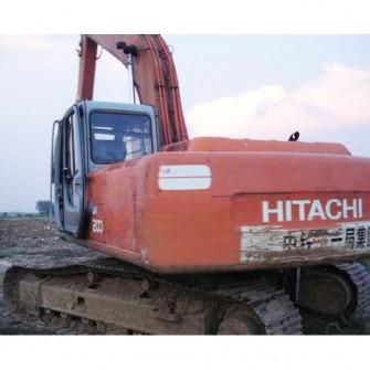 Excavadora de cadenas usada Hitachi EX200-5