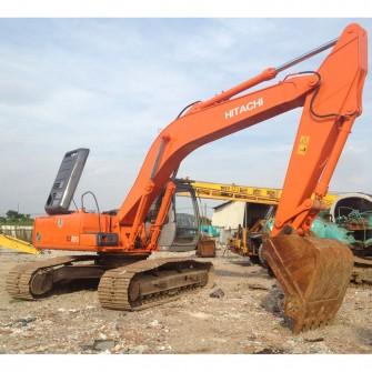 Excavadora de cadenas usada Hitachi EX220