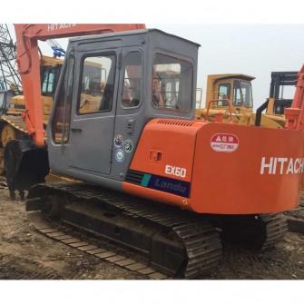 Excavadora de cadenas usada Hitachi EX60