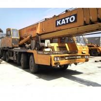 مستعملة موبايل شاحنة رافعة KATO NK500E