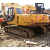Excavadora de cadenas usada Komatsu PC200-6