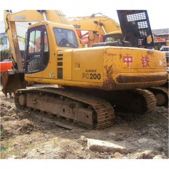 Used Crawler Excavator Komatsu PC200-6