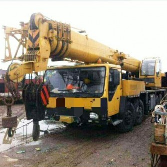 Used Mobile Truck Crane XCMG QY50K