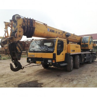 Used Mobile Truck Crane XCMG QY70K