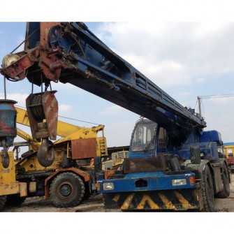 Used Rough Terrain Crane Kobeclo RK250-3