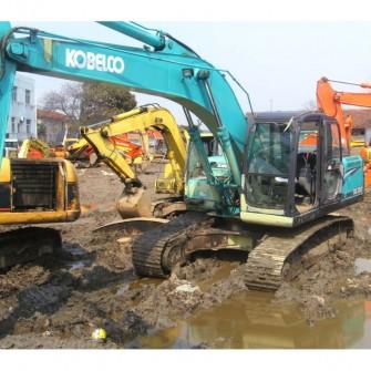 Usada sk200-8 Excavadora Kobelco