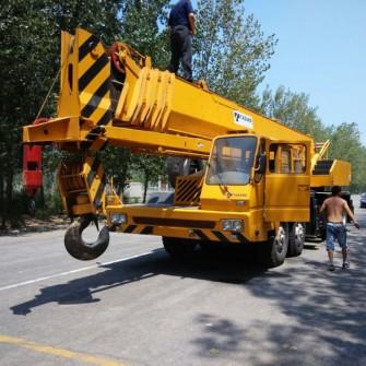 Used Mobile Truck Crane Tadano TG1000E