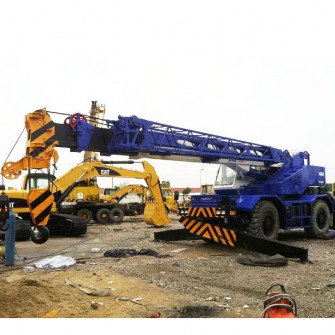 Used Rough Terrain Crane Tadano TR250M
