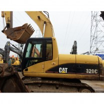 Used Crawler Excavator CAT 320C