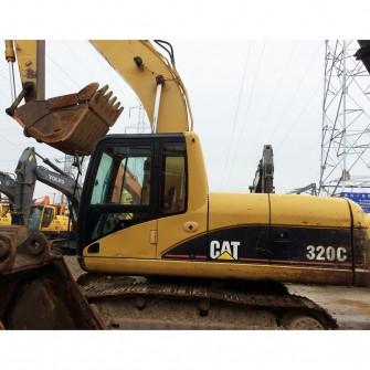 Used Crawler Excavator CAT 320C