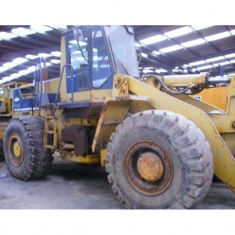Used wheel loader komatsu WA450