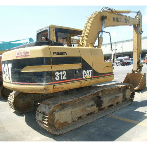 Used Crawler Excavator CAT 312C