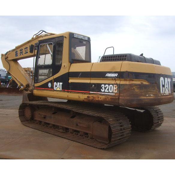 Excavadora de cadenas usada CAT 320B