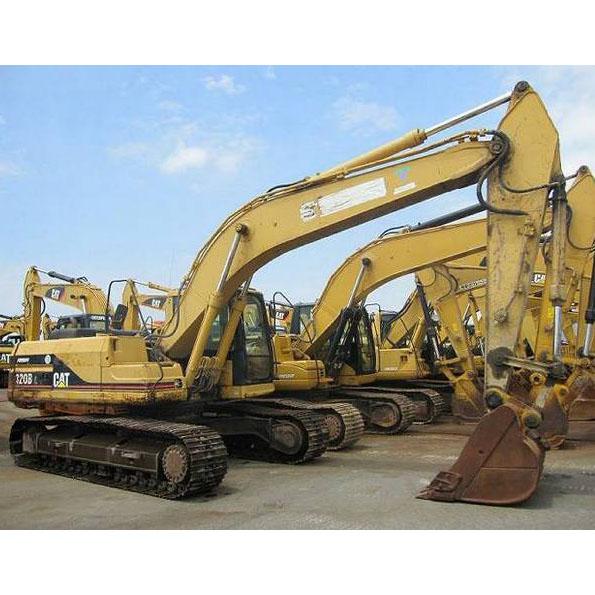Excavadora de cadenas usada CAT 320BL