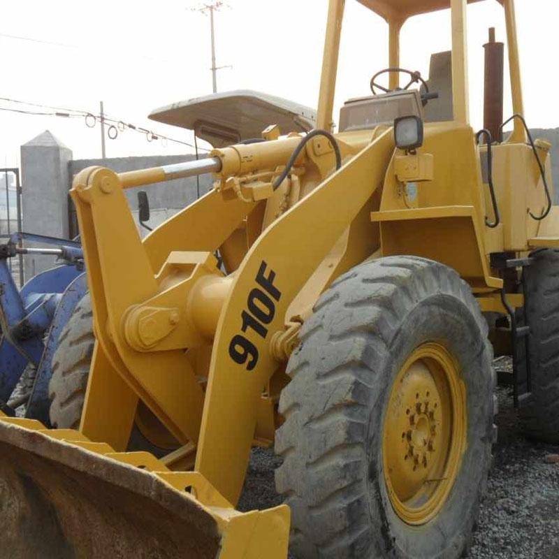 cargadora de ruedas usada CAT 910F
