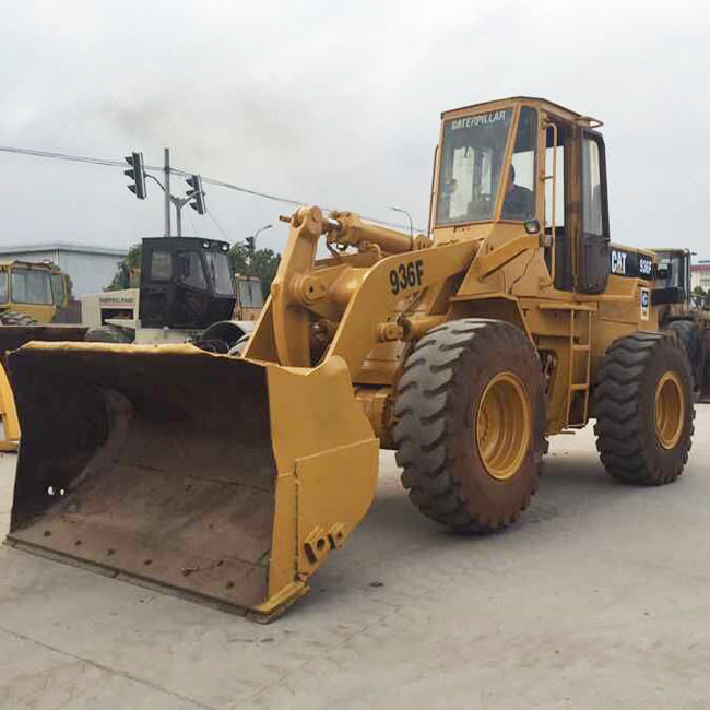 Used wheel loader CAT 936F