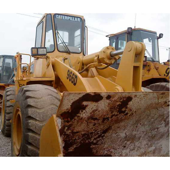 Used wheel loader CAT 966D