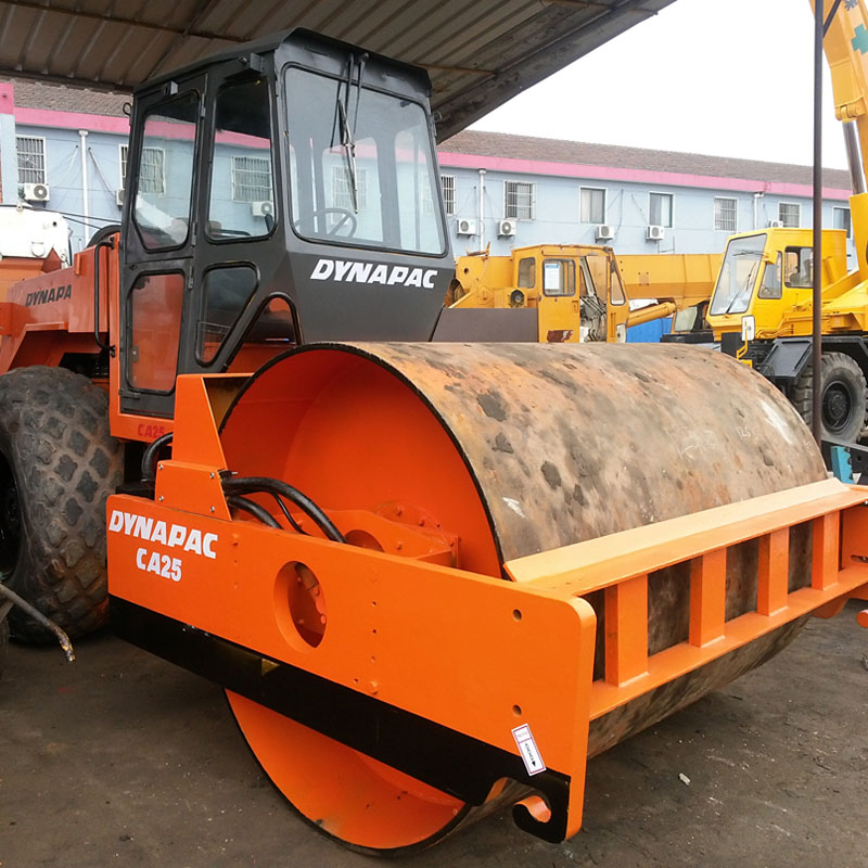 Used Dynapac Road Roller CA25