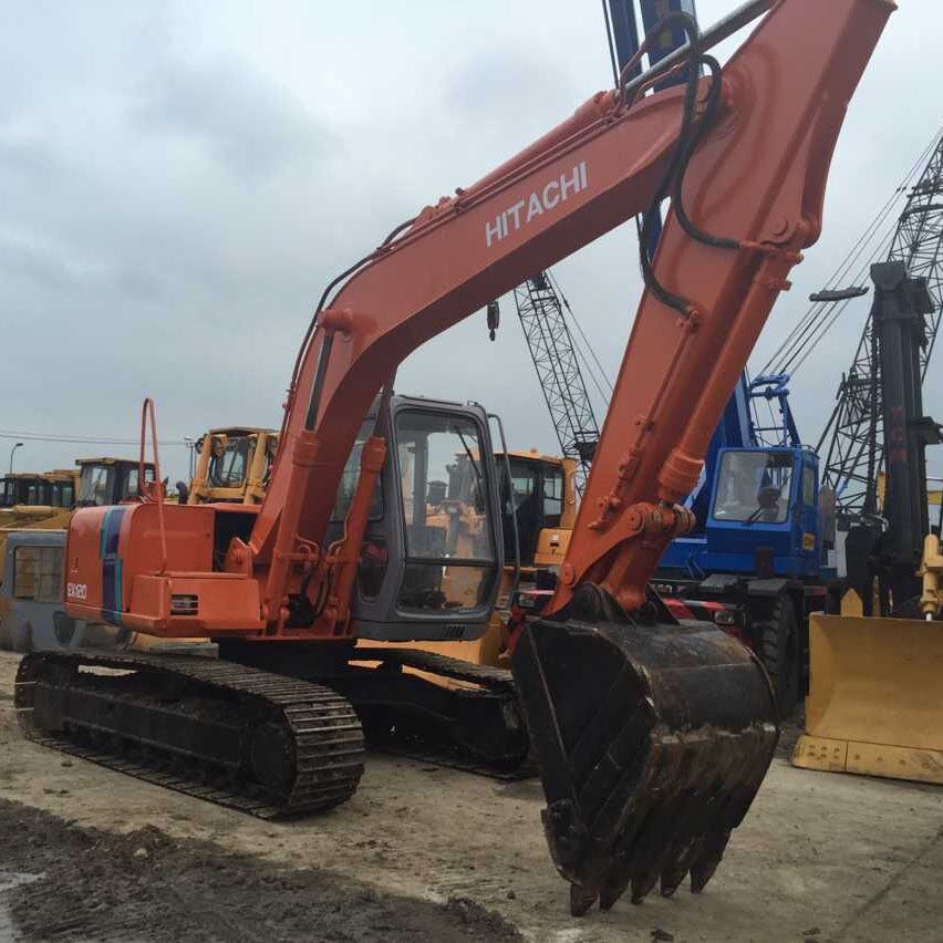 Used Crawler Excavator Hitachi EX120